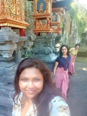#selfiewithaview #tripotocommunity  ... Goa Gajah caves