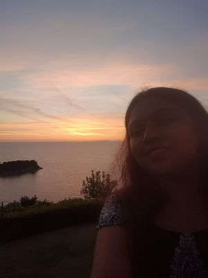 #selfiewithaview #tripotocommunity  ... Adriatic sea sunset view .. #theneopolhotel