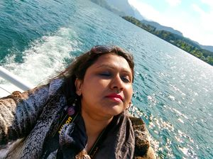 #selfiewithaview #tripotocommunity  ...glorious sunny day.. perfect for day out on lake luzerne