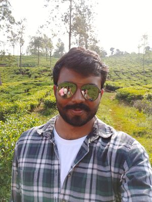 The serene view of tea plantation which soothes the mind.  #SelfieWithAView  #TripotoCommunity