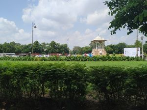 Statue Circle Central Park Jaipur