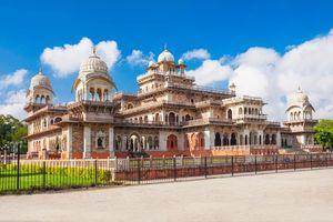 Famous Albert Hall or ramniwas Garden of Jaipur and Sisodiya Rani ka bagh