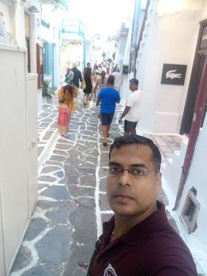 When u r not in Venice but in little Venice (Mykonos)