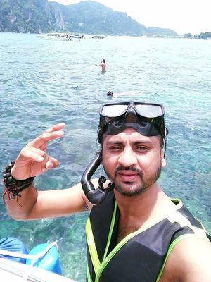 #Snorkeling #PhiPhiIsland #Phuket #Thailand #SelfieWithAView #TripotoCommunity