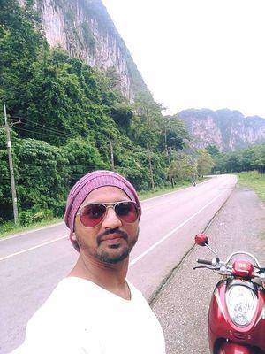 Making Memories #Scoopy #RoadTravel #Krabi #Thailand #SelfieWithAView #TripotoCommunity