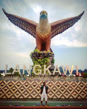 #DataranEagle #EagleSquare #Kuah #Langkawi #Malaysia #ShettyVity #OneLifeYSoSerious