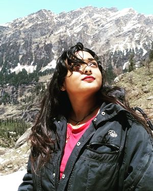 Looking right at the top where I want to reach. #SelfieWithAView #TripotoCommunity