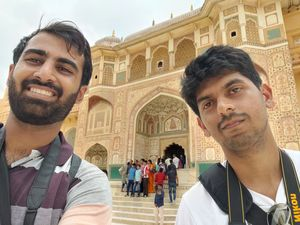 Amer fort #selfiewithaview #tripotocommunity