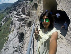 With the rising real-estate prices, I'm going back to stoneage #SelfieWithAView #TripotoCommunity