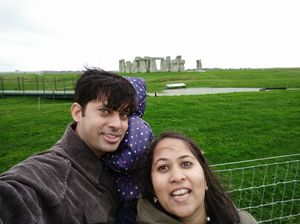 The stones that are unmovable from ages..#stoneage#UK#SelfieWithAView#TripotoCommunity
