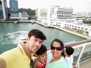 #Singapore  #Cruise #SelfieWithAView #TripotoCommunity