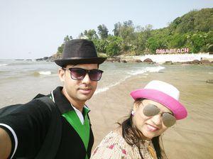 Baga Beach,Goa #SelfieWithAView #TripotoCommunity