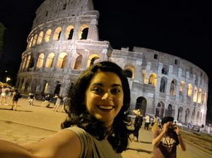The Colosseum.. #SelfieWithAView #TripotoCommunity