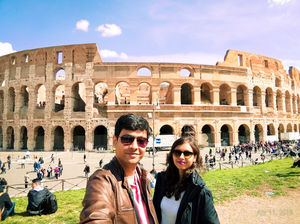 """""""You may have the universe if I may have Italy."""" ???? #SelfieWithAView #TripotoCommunity"""