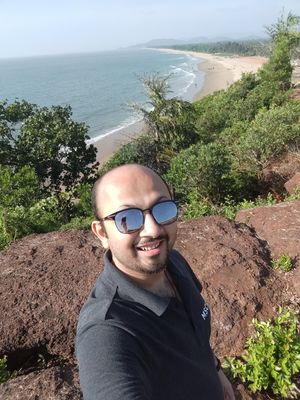 Gokarna Beach View #SelfieWithAView #TripotoCommunity