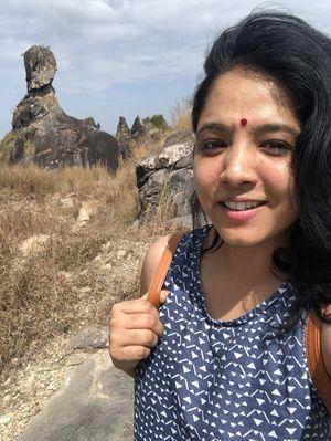 Wonder why the rock behind is called phantom rock ???? #SelfieWithAView #TripotoCommunity