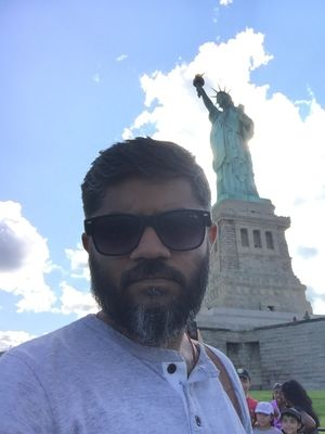 Is liberty on my top??? Nooo that's my priority...#SelfieWithAView#tripotocommunity