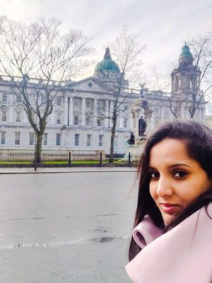 At Belfast City Hall #SelfieWithAView #TripotoCommunity