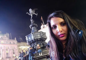 At the iconic Piccadilly Circus !!!! #SelfieWithAView #TripotoCommunity