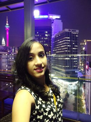 The Malaysian night life. . #SelfieWithAView #TripotoCommunity