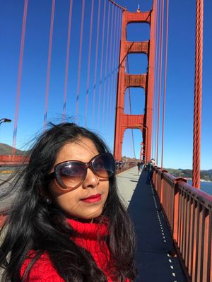 U stay in california and u dont have Golden Gate pic??? #SelfieWithAView #TripotoCommunity