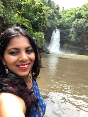 visited Goa many tyms since childhood, but this waterfall 1st tym,#SelfieWithAView #TripotoCommunity