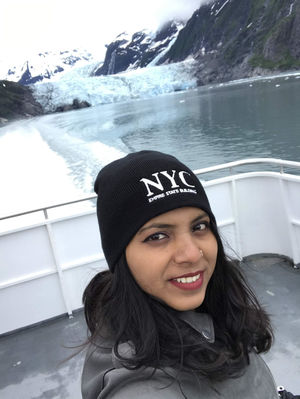 glacier, 1st time , so close...  Beauty of Alaska #SelfieWithAView #TripotoCommunity