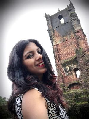 old Goa, many times visited Goa, but this historic fort first tym #SelfieWithAView #TripotoCommunity