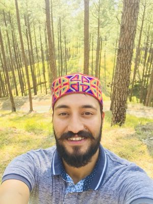 That smile when you are in woods. #SelfieWithAView  #TripotoCommunity