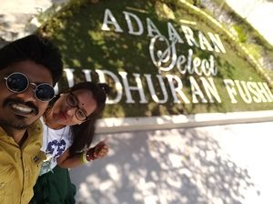 Selfie with one of the best resort in Maldives... #SelfieWithAView #TripotoCommunity