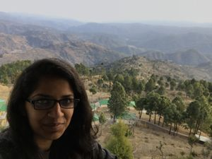 Mountains teach us life lessons. Selfies with them are the best! #SelfieWithAView #TripotoCommunity
