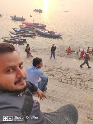 #ganga # Kashi #bhole_ki #nagri #SelfieWithAView and #TripotoCommunity