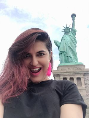 Seen here together -  Liberated and Liberty ???????? Definitely #selfiewithaview ????????@tripotocom
