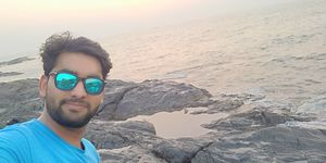Nothing Better than a perfect sunset and close to nature. #SelfieWithAView #TripotoCommunity