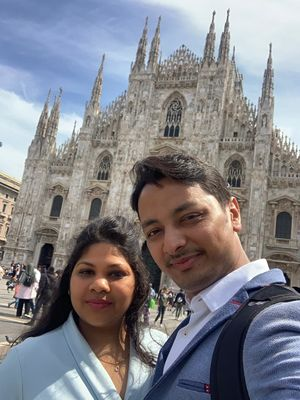 My soul is fashionable and Milan has the strength to touch it   #SELFIEWITHAVIEW #TRIPOTOTOCOMMUNITY