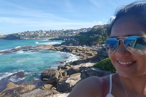 Bleeding Blue in Sydney  #SelfieWithAView #TripotoCommunity