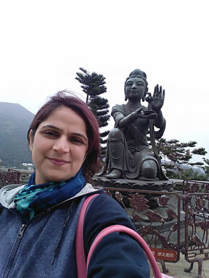 I go to the Buddha for refuge #SelfieWithAView #TripotoCommunity