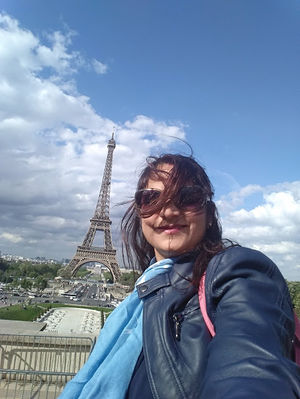 City of Love, With Symbol of Love #SelfieWithAView #TripotoCommunity