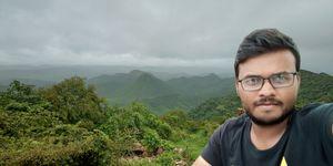 The beautiful view of Aravalli hill range. #SelfieWithAView #TripotoCommunity