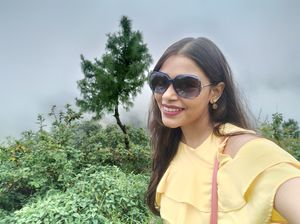Trees,Clouds and me,,,what else can I ask for???? #SelfieWithAView #TripotoCommunity