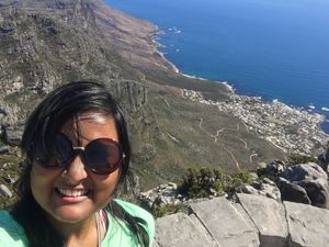 Cape Town, 2018: Relishing the view of the Mother city from atop the Table Mountain is unforgettable