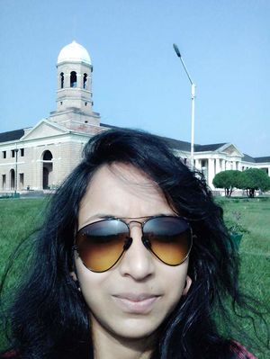 #SelfiWithAView Place------ Dehradun forest research Institute ❤????