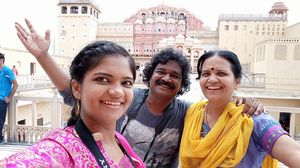 "Hawa Mahal ""The Palace of Winds""or ""The Palace of Breeze""#SelfieWithAView#TripotoCommunity"