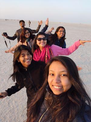 """Kutch Nahi Dekha to Kutch Nahi Dekha"" #SelfieWithAView #TripotoCommunity"