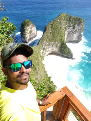 Nusa penida u beauty #SelfieWithAView #TripotoCommunity