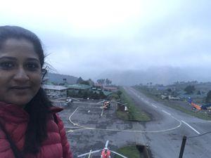 #World's Dangerous Runway #SelfieWithAView #TripotoCommunity