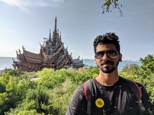 Selfie with Sanctuary of Truth  #SelfieWithAView #TripotoCommunity