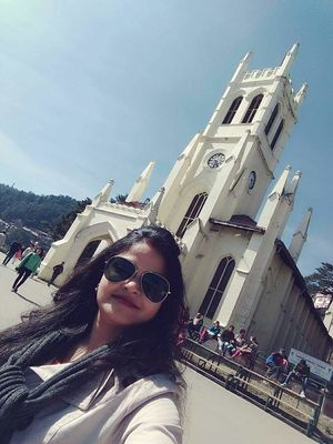 Selfie with The Christ Church #SelfieWithAView #TripotoCommunity