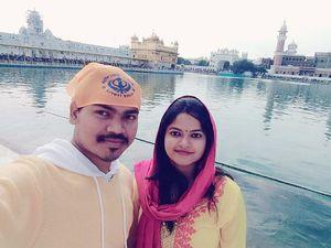 Waheguru Ji ka Khalsa Waheguru Ji ki Fateh #SelfieWithAView #TripotoCommunity