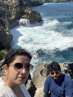 Amazing view from BALI #SelfieWithAView #TripotoCommunity !! It was amazing experience